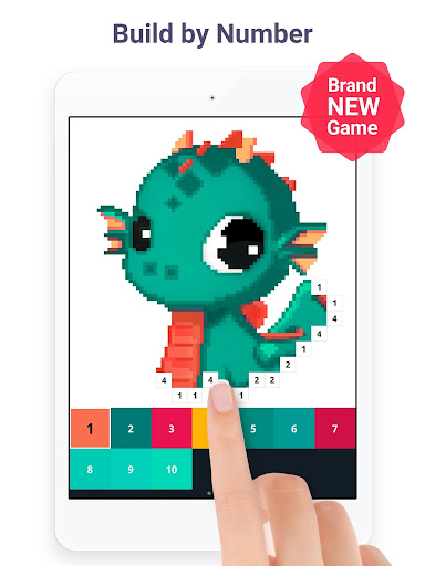 Pixel Art: Build by Number Game screenshot 6