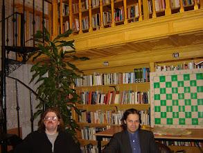 Photo: Rusz Sándor költő és Diószegi Szabó Pál költő, az est házigazdái.