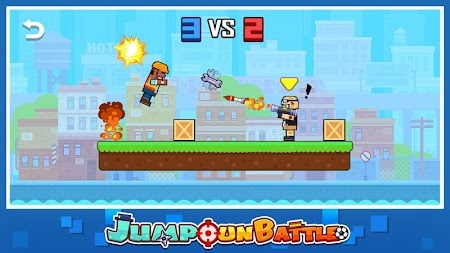 Jump Gun Battle APK screenshot thumbnail 1