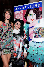Photo: Maybelline New York sponsors Buffi Jashanmal for  New York Fashion Week sept 09