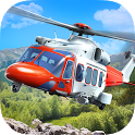 Helicopter Flight Rescue 3D icon