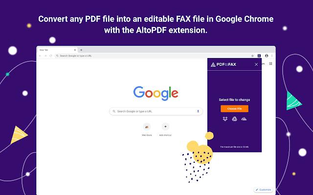 Alto PDF to Fax Free Converter by pdfFiller