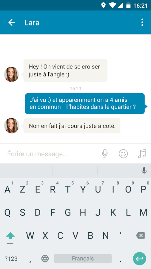 Application de rencontre android