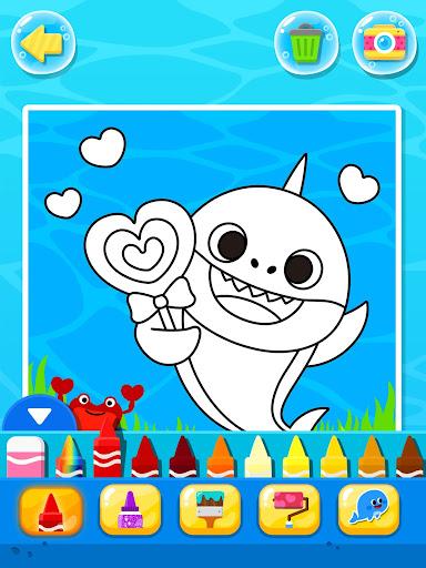 Pinkfong Baby Shark Coloring Book screenshot 16