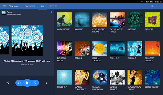 Digitally Imported Radio Screenshot 9