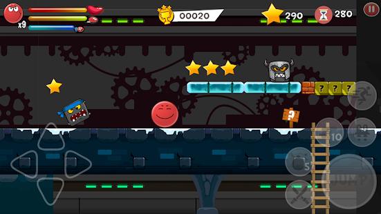 b47f803bf2568 Download Red Hero 4 - Bounce Ball Adventure APK + Mod APK + Obb data ...