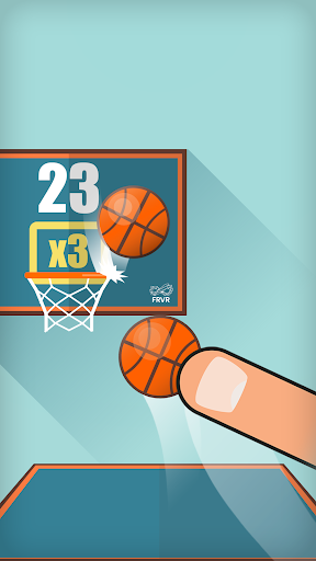 Basketball FRVR - Shoot the Hoop and Slam Dunk!  screenshots 3
