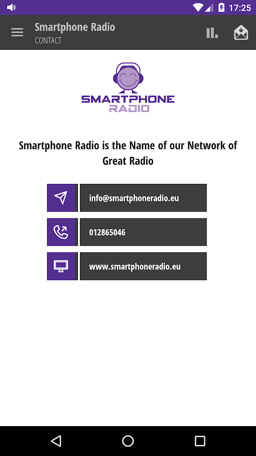 Smartphone Radio- screenshot