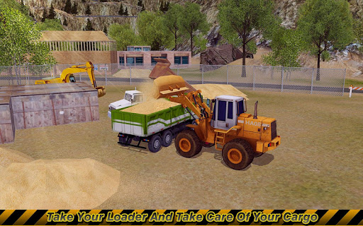 Loader & Dump Truck Simulator  screenshots 1