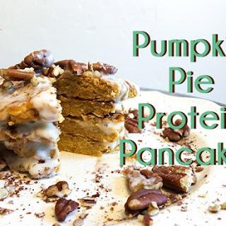 Pumpkin Pie Protein Pancakes