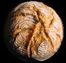 loaf of artisan bread
