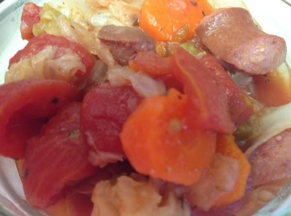 Mom's Cabbage Goulash Recipe
