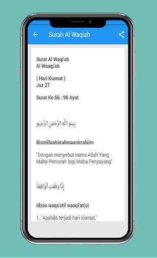 Download Surah Al Waqiah Arab Latin Dan Terjemahannya