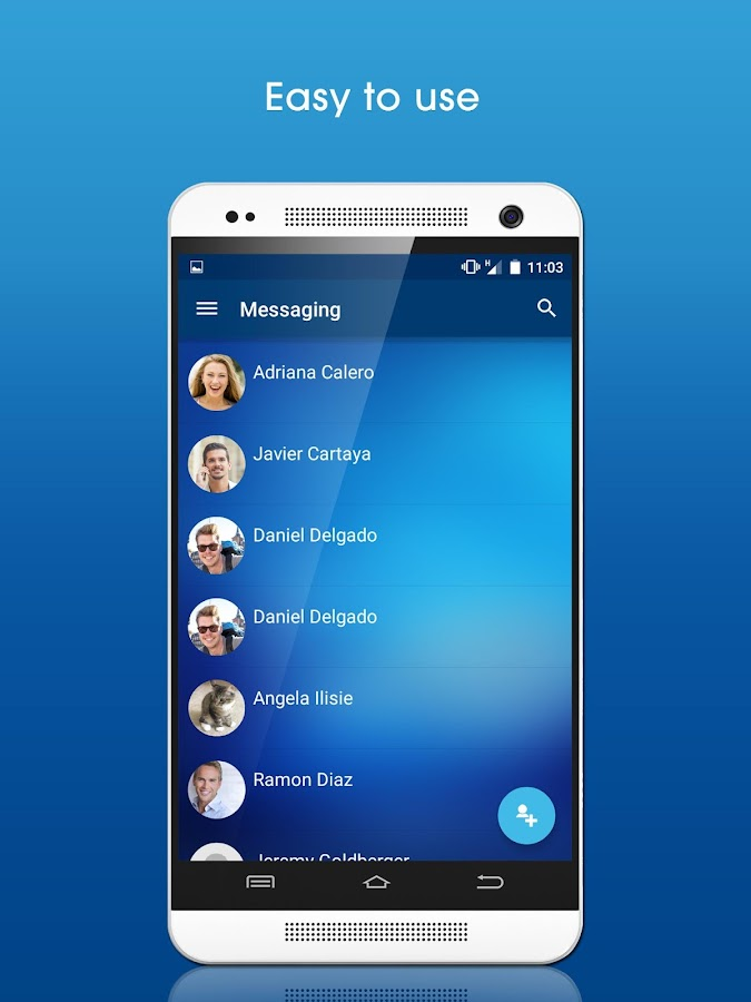 DUO: Encrypted Text Messenger- screenshot