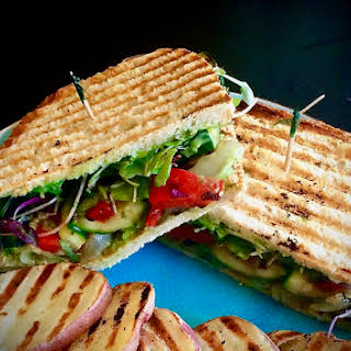 Grilled Vegetable Panini.