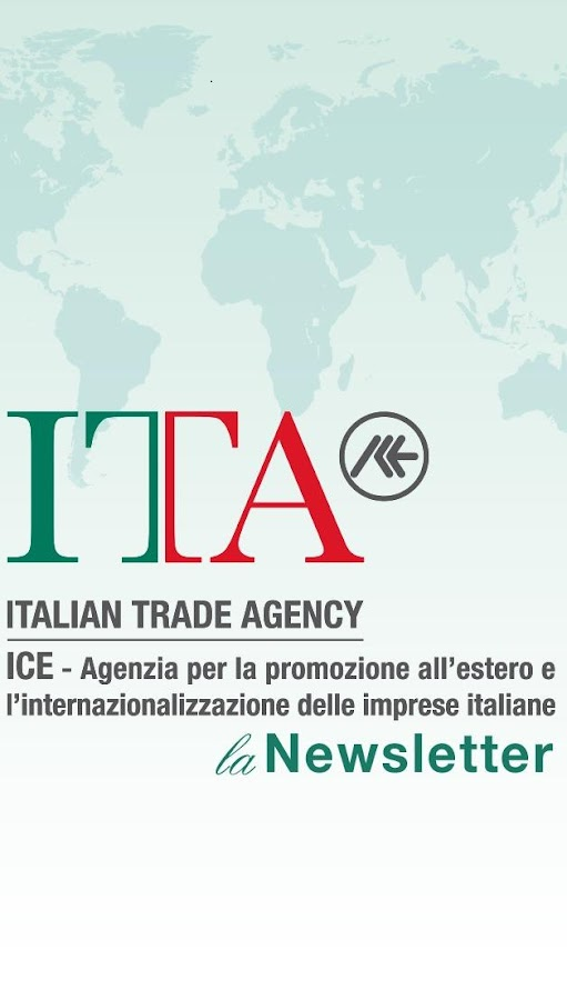 ICE-Agenzia Newsletter- screenshot