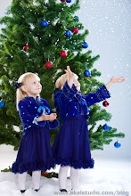 Photo: New year is coming!  This was part of our 2010 New Year celebration. This is a studio shot: +Genia Larionova was throwing fake snow, girls were catching:-) Hope we'll have fun this year as well.  Are you getting ready for New Year/Christmas shotout?