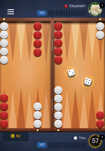 Free Backgammon Go: Best online dice & board games 2.9.1 gameplay | by HackJr.Pw 7