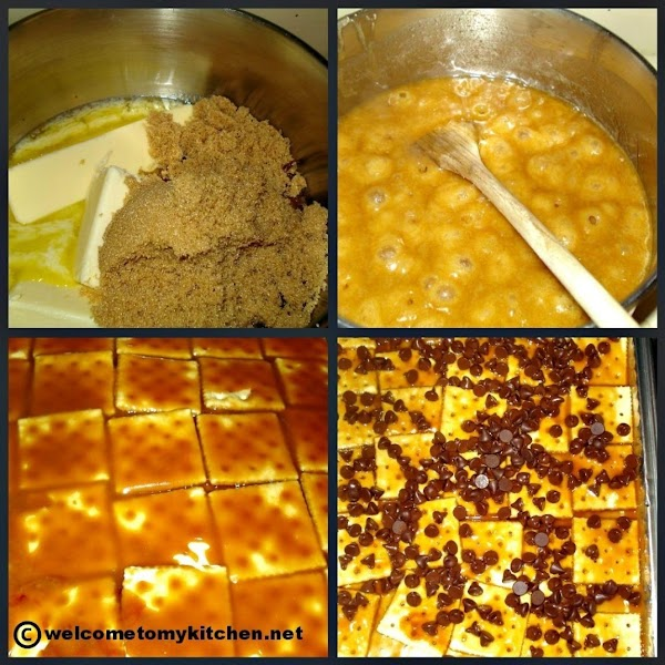 Place brown sugar and butter in a sauce pan overmedium heat. Stir constantly to...