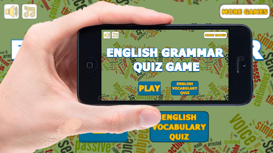 English Grammar Quiz Game - náhled