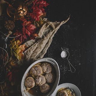 Bourbon & Buttermilk Biscuit Apple Cobbler