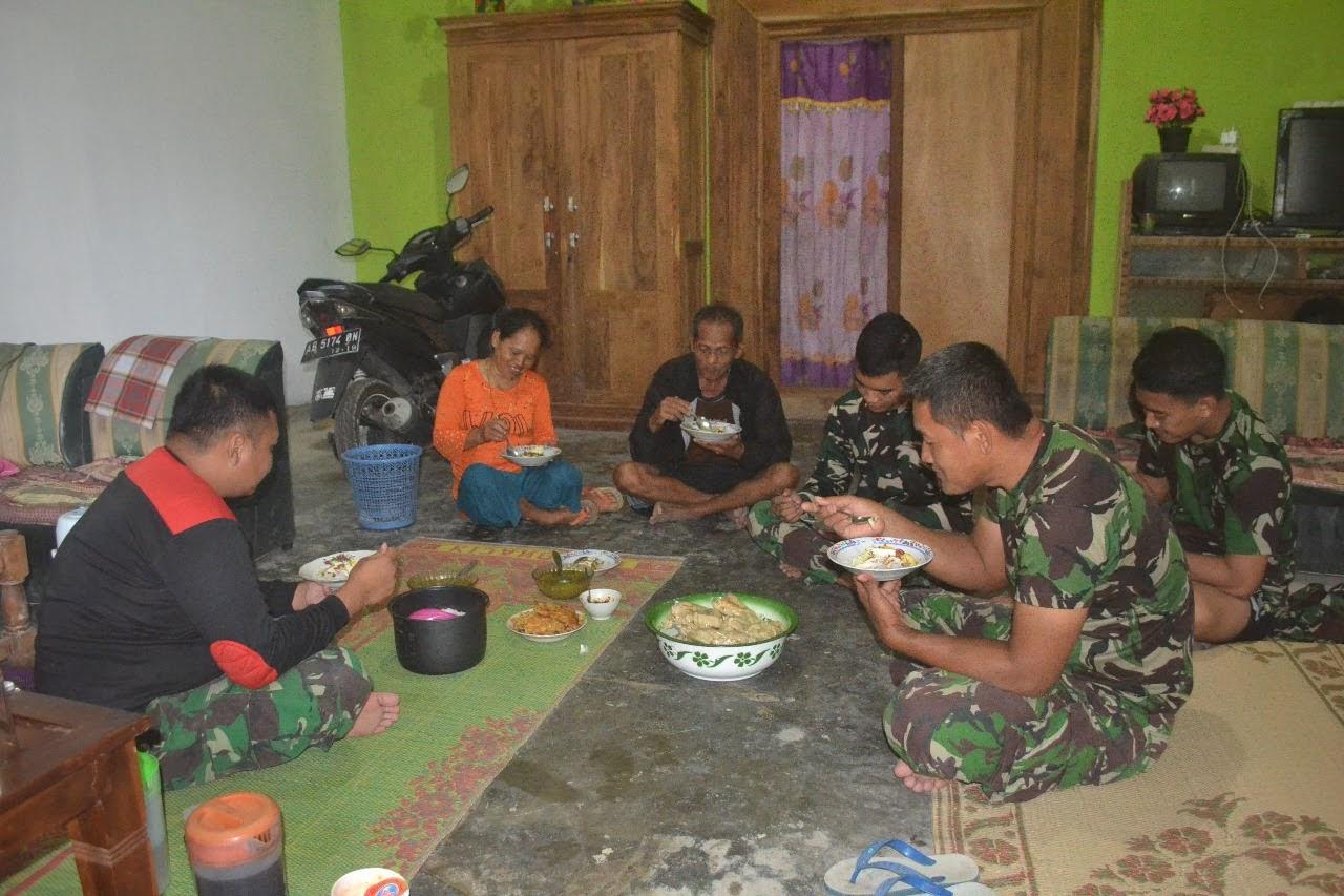 Orang Tua Asuh Menjadi Momen Kebahagian Tersendiri Bagi Prajurit TNI di TMMD