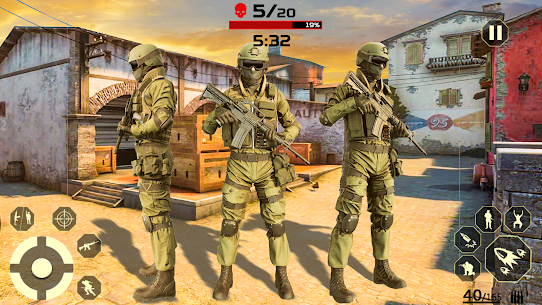 Fire Free Battle Royale: Cover Fire Special Force Apk  Download For Android 3