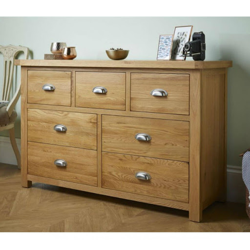 Birlea Woburn 3 Door 2 Drawer Robe