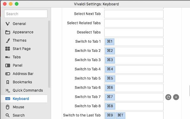 Fast new tabs (for Vivaldi) - Chrome Web Store