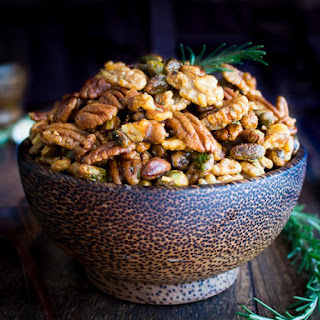 Stove Top Rosemary Party Nuts Recipe