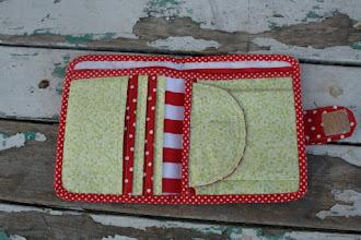 Photo: portafogli modello napkitten, dettaglio