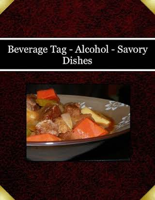 Beverage Tag - Alcohol - Savory Dishes