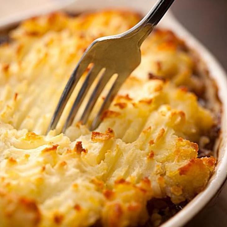 Shepherd'S Pie with Potato Topping Recipe