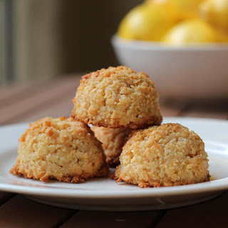 Meyer Lemon Coconut Macaroons