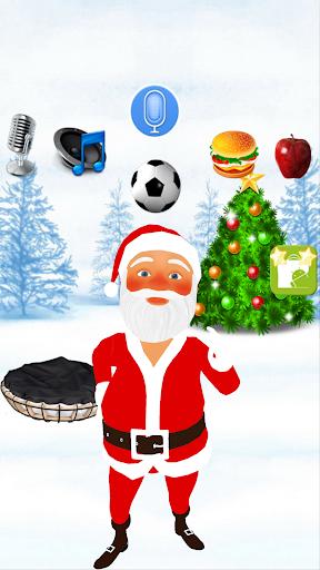 Talking Santa Claus 1.3 screenshots 1