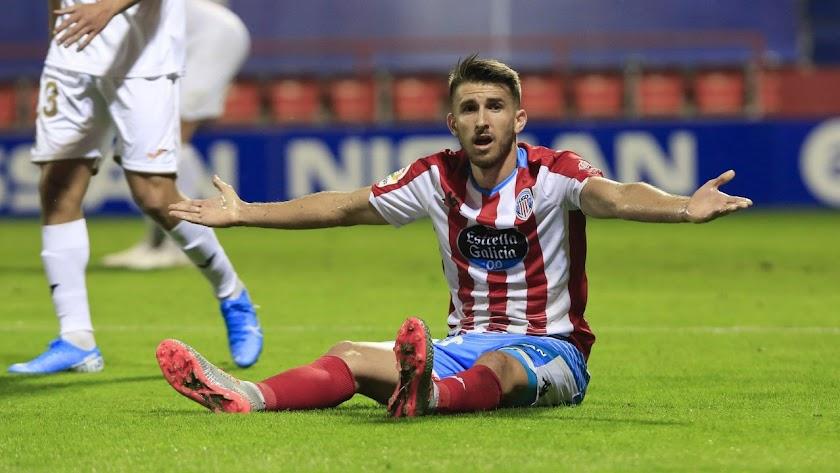 Gerard Valentín ve al Lugo con mucha fuerza.