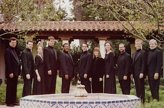 Photo: Nov. 1994: Rollins College; Mannerist Mania concert performed for the statewide American Choral Directors Association.