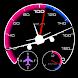航空計器 - スピードメーター Pro