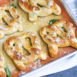 Garlic Pretzels Recipes.