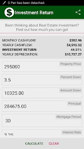 Investment Return screenshot 1