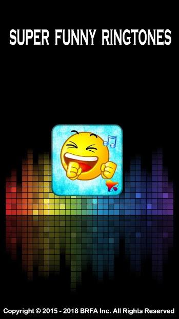 Super Funny Ringtones Android App Screenshot