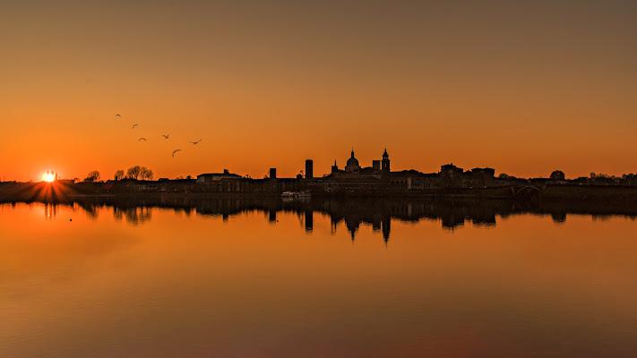 Mantova sun set di Nefti-Monica