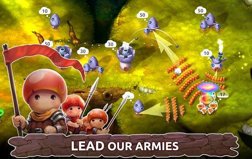 Mushroom Wars 2 - Epic Tower Defense RTS 3.10.1 screenshots 1