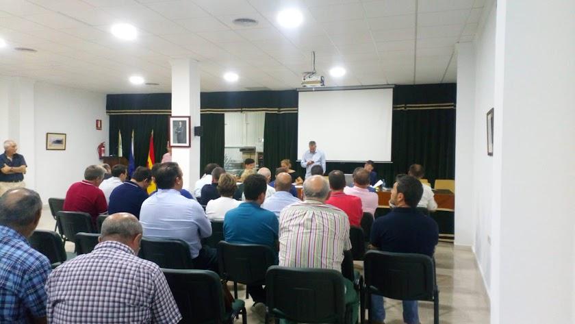 Asamblea celebrada en la mañana de este miércoles en la sede del consorcio, en Albox.