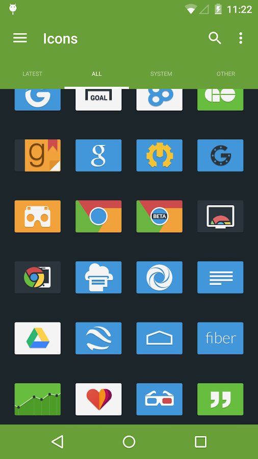 Tendere - Icon Pack- screenshot