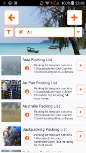 Packnomad - pack your bag - náhled