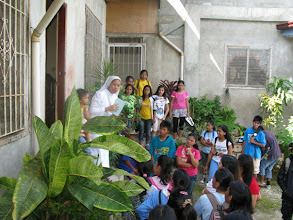 Photo: Beneficiaries visit orphanage