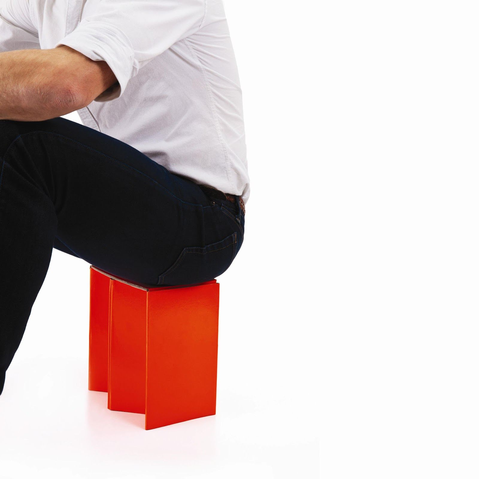 Folding Cardboard Chair