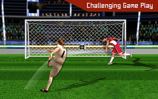 Football shooter : football shooting game 2019 screenshot 3