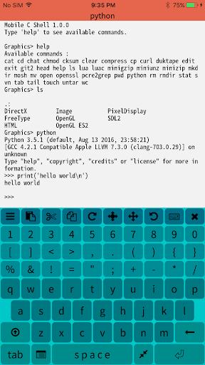 Mobile C ( C/C++ Compiler ) 2.4.2 screenshots 4